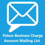 charge account mailing list