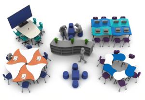 Artcobell Classroom Zones